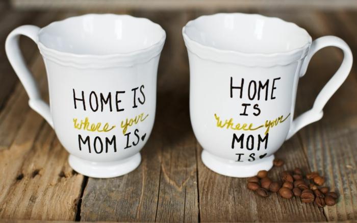 cadeau fête des mères diy un mug