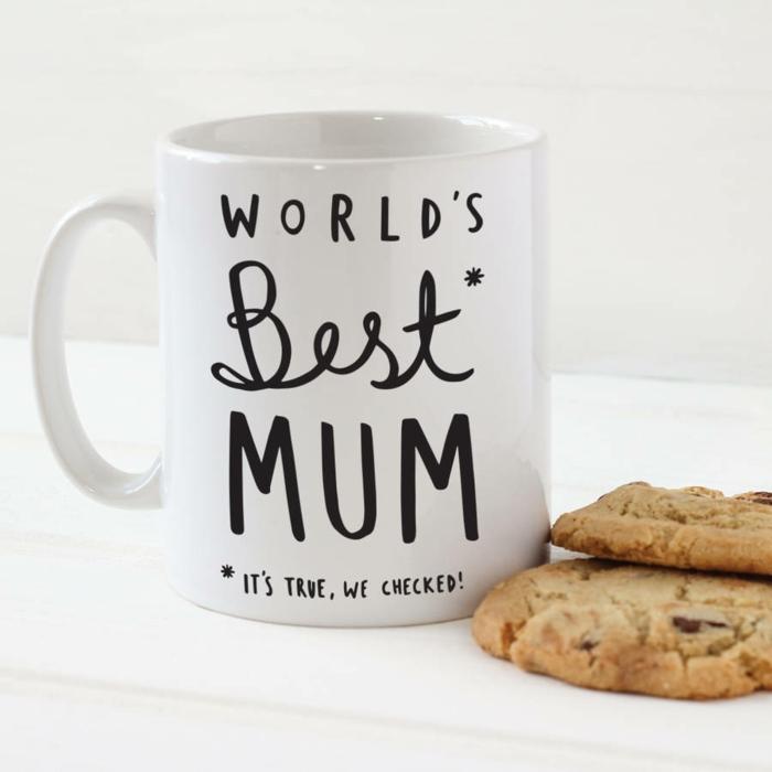 cadeau fête des mères mug personnalisé