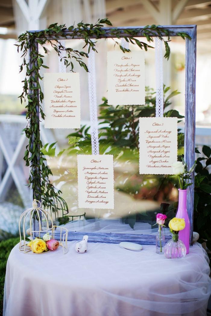plan de table mariage id es pour le grand jour