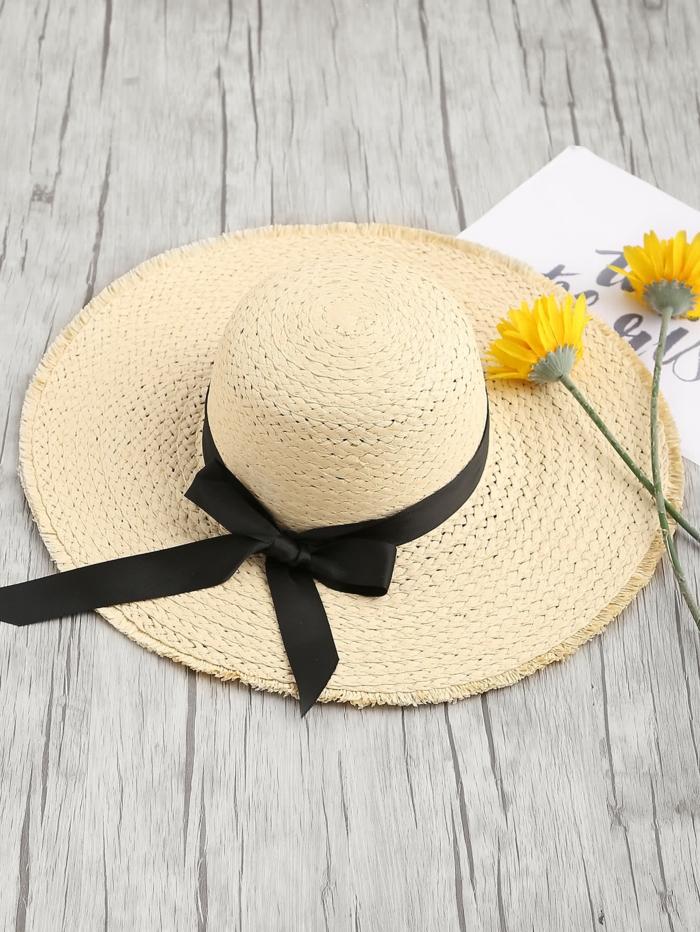 capeline chapeau de paille tendance été