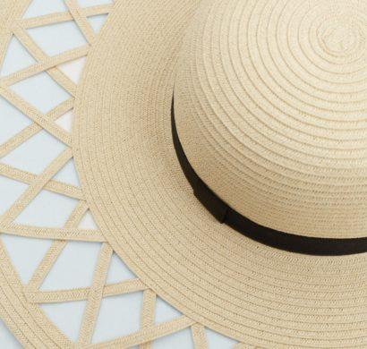 chapeau de paille tendance pour l'été