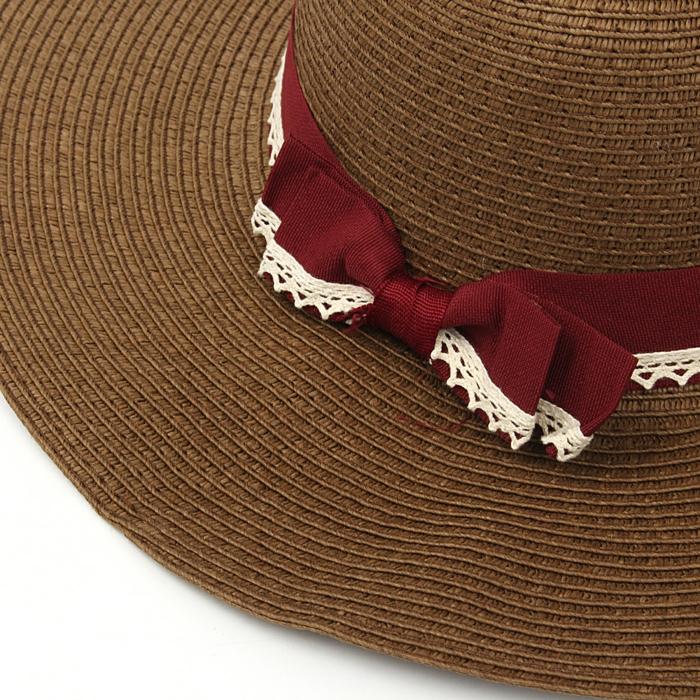 chapeau de paille mode femme