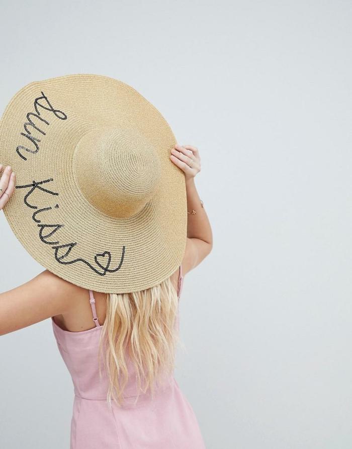 chapeau de paille sun kiss