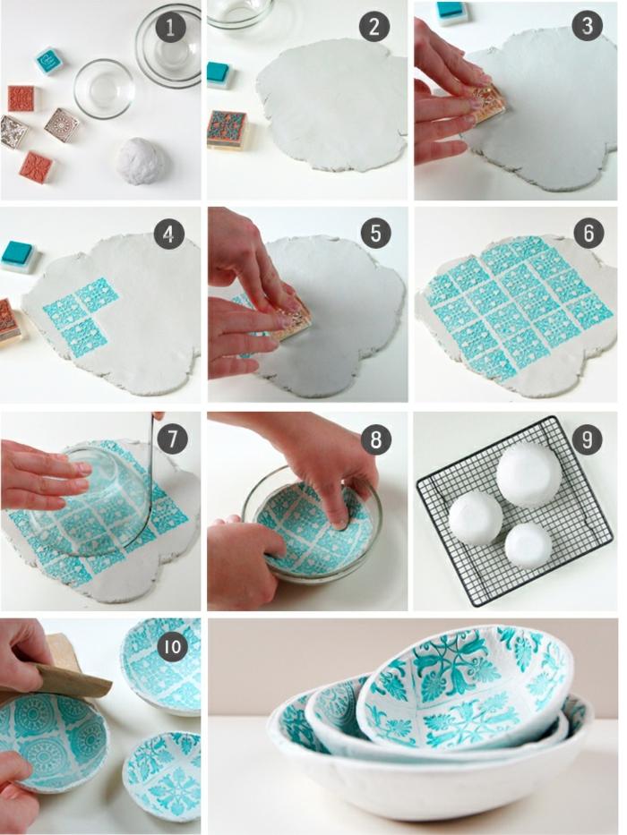 comment utiliser la pâte fimo pour une coupelle bijoux