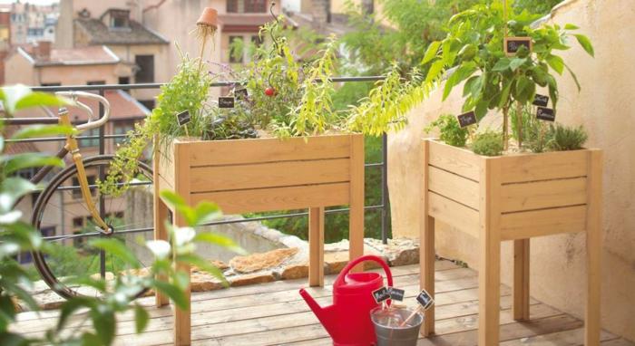 créer un potager balcon