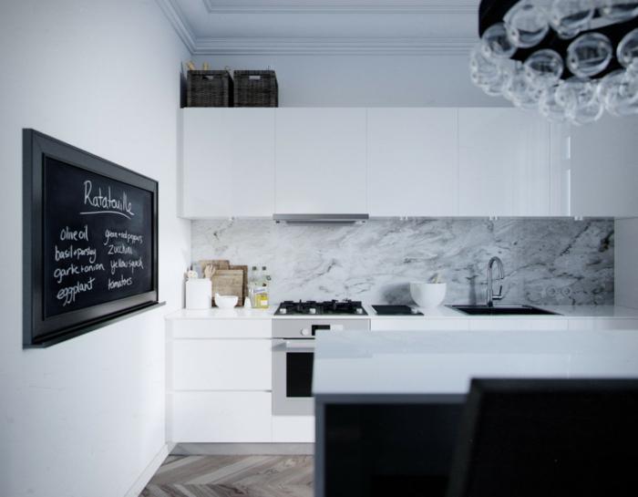 cuisine moderne tableau ardoise