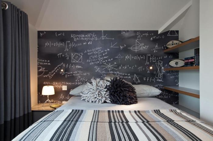 déco chambre avec tableau ardoise