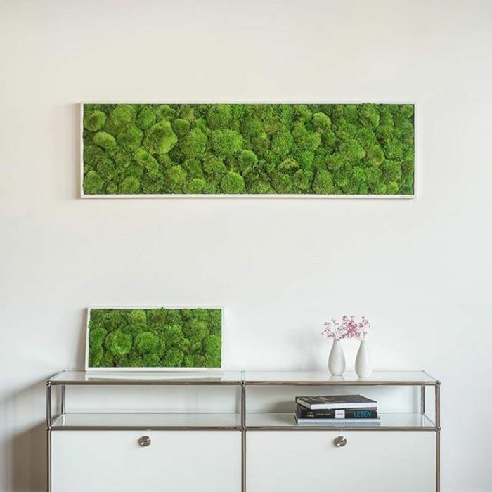déco panneaux muraux mousse végétale