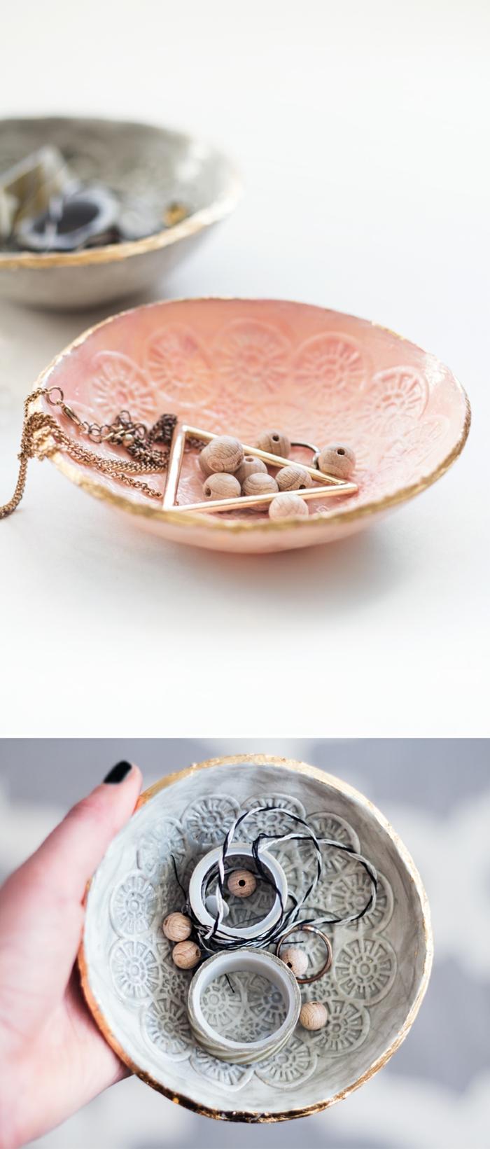 diy coupelle pour bijoux pâte fimo
