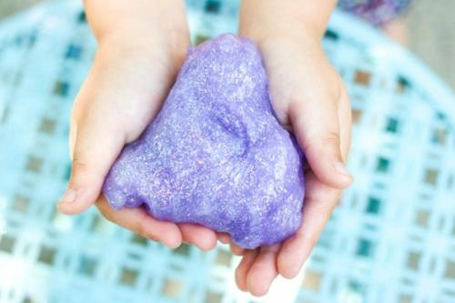 diy recette slime pour enfants