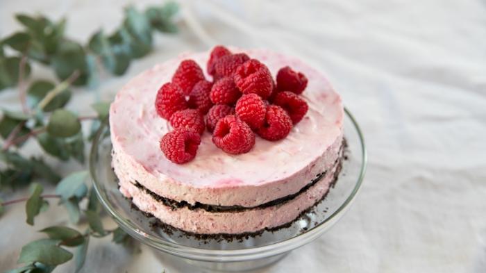 framboisier gâteau recette