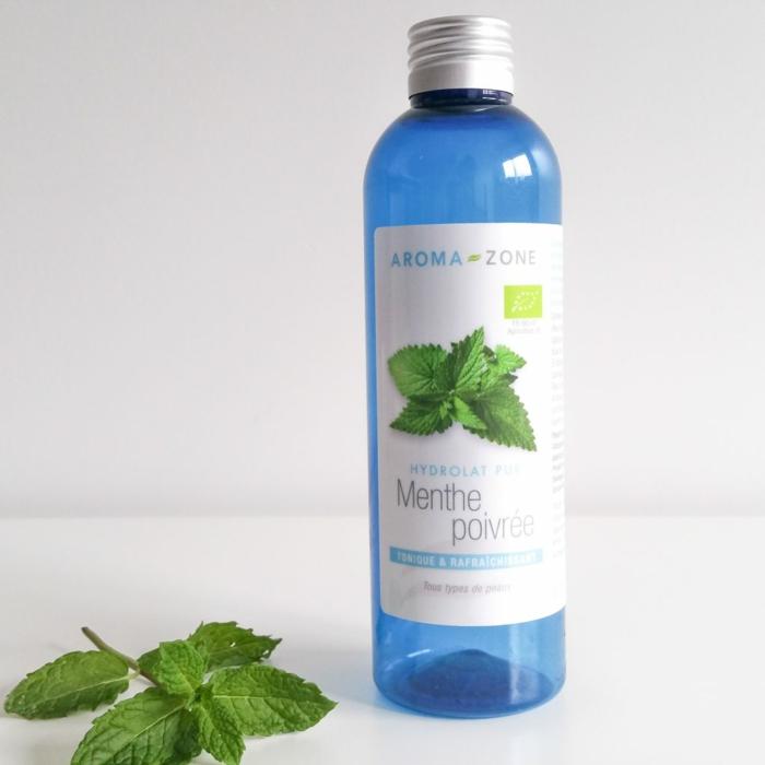 hydrolat menthe poivrée eau micellaire