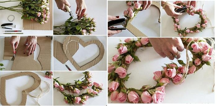 idée de cadeau fête des mères avec des fleurs