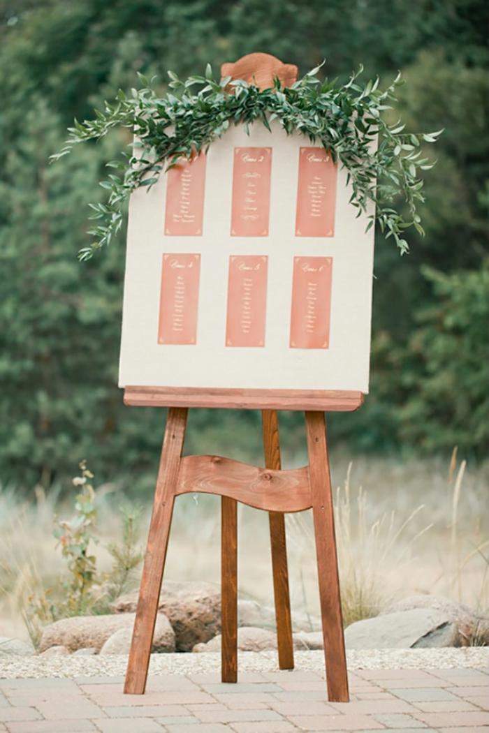 Plan de table mariage id es pour le grand jour - Idee plan de table ...