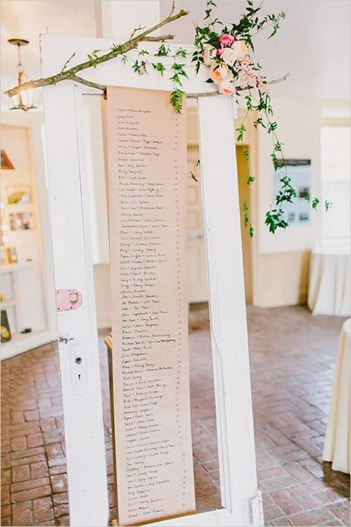 idée plan de table mariage diy
