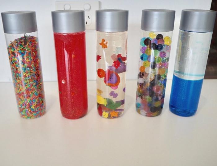 idées pour fabriquer une bouteille sensorielle