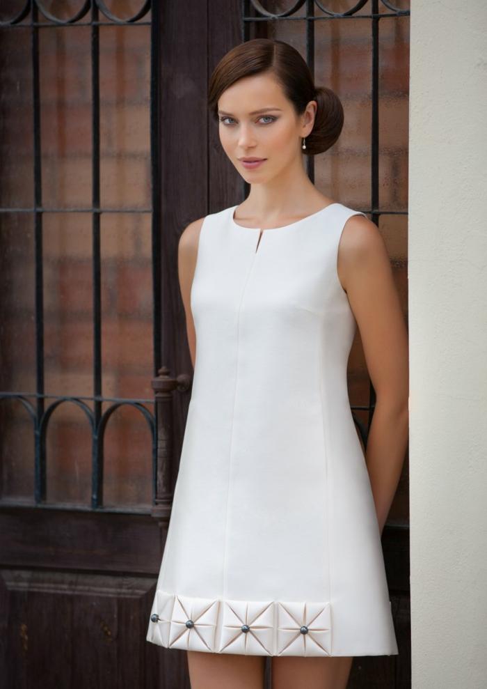 jolie robe de mariée courte