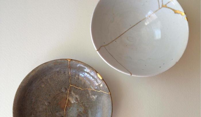 kintsugi céramique