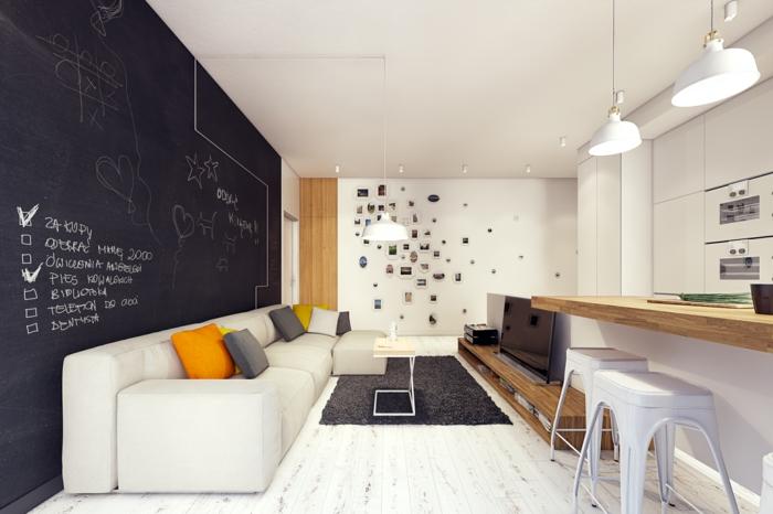large tableau ardoise idée pour votre intérieur
