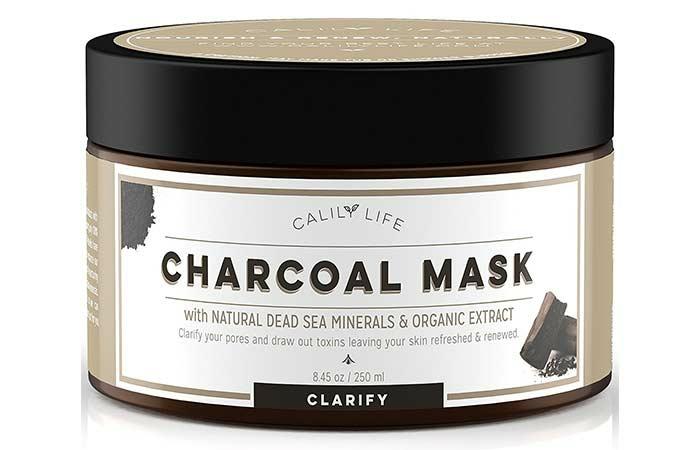 masque charbon vendu au commerce