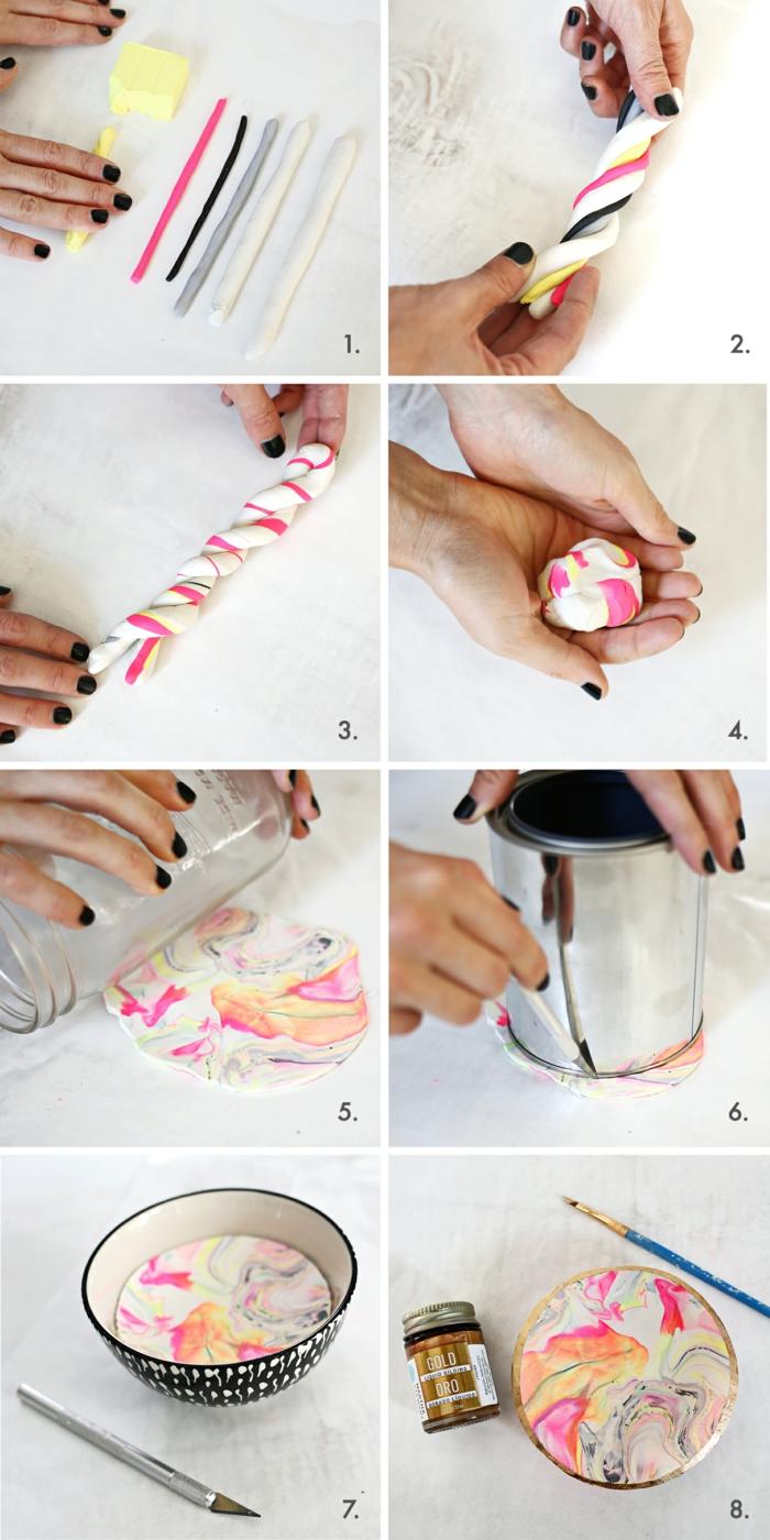 opter pour la pâte fimo pour ranger vos bijoux plus facilement