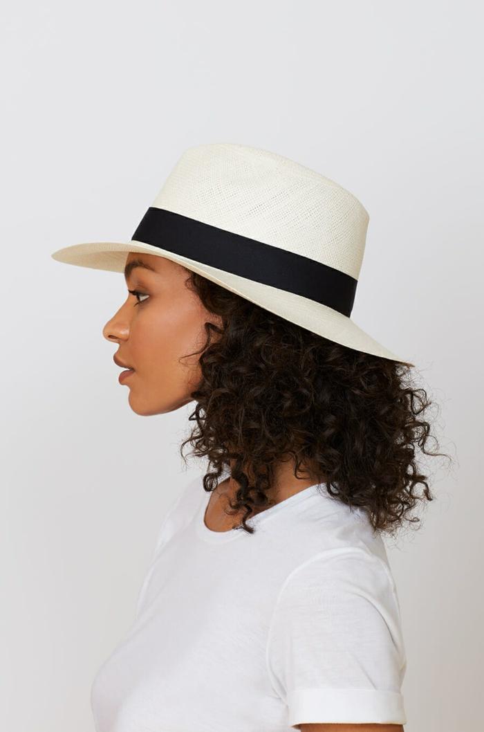 panama modèle chapeau de paille