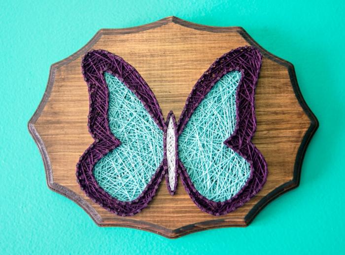 papillon string art idée originale de cadeau fête des mères