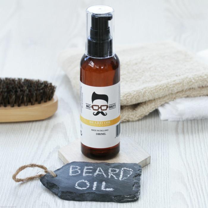 recette huile à barbe pour entretenir sa barbe