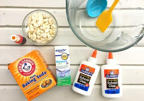 recette slime bicarbonate de soude