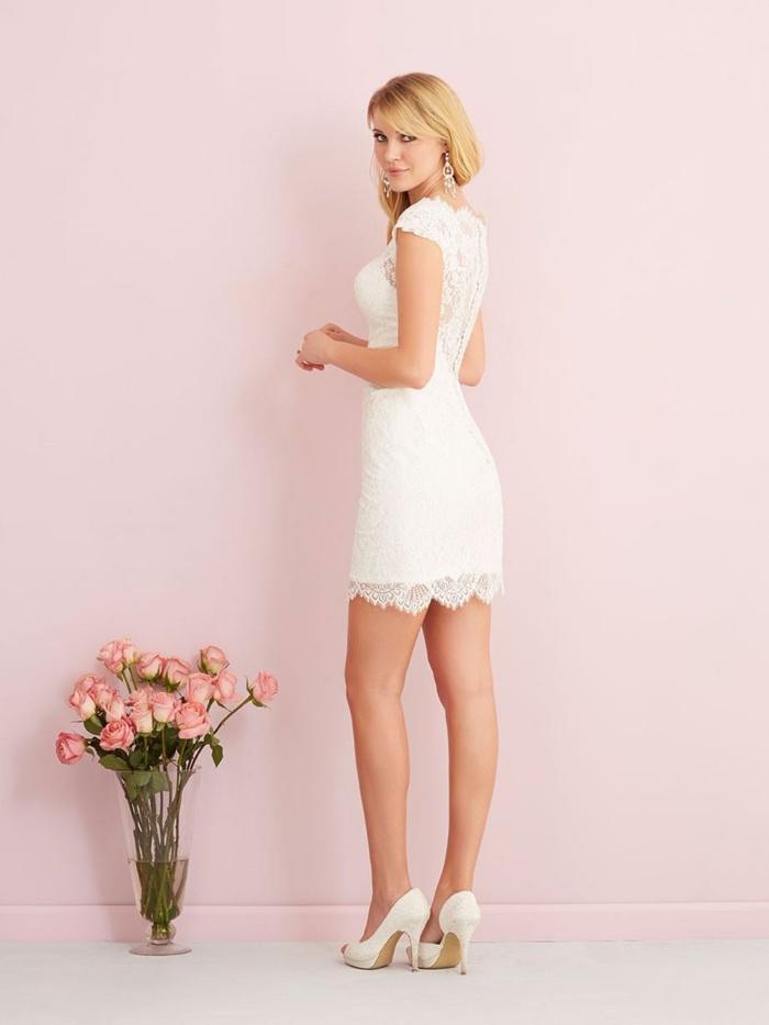 robe de mariée courte tendance pour l'été
