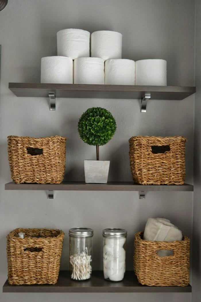panier tress 40 id es pour l 39 utiliser comme objet d co dans l 39 int rieur. Black Bedroom Furniture Sets. Home Design Ideas