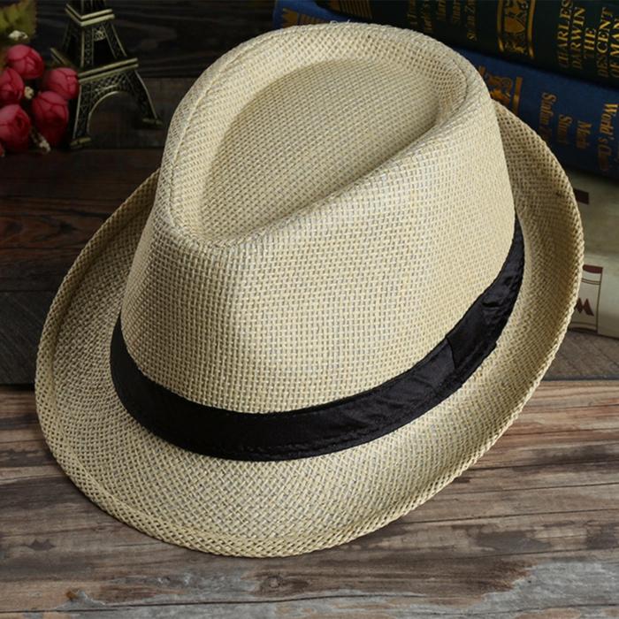 tendance chapeau de paille trilby