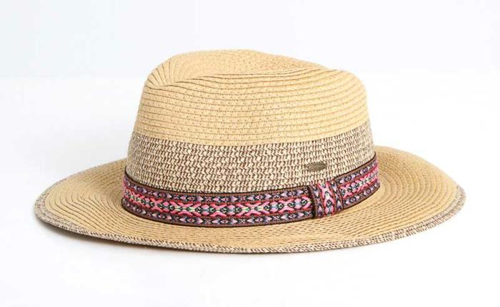 tendance printemps été panama chapeau de paille