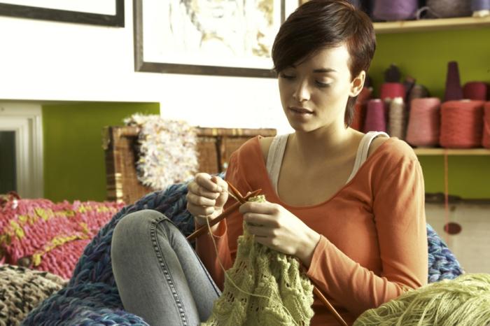 art tricotage tricothérapie