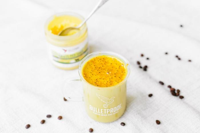 bulletproof coffee curcuma vanille