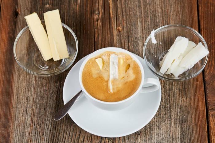 bulletproof coffee huile de coco beurre