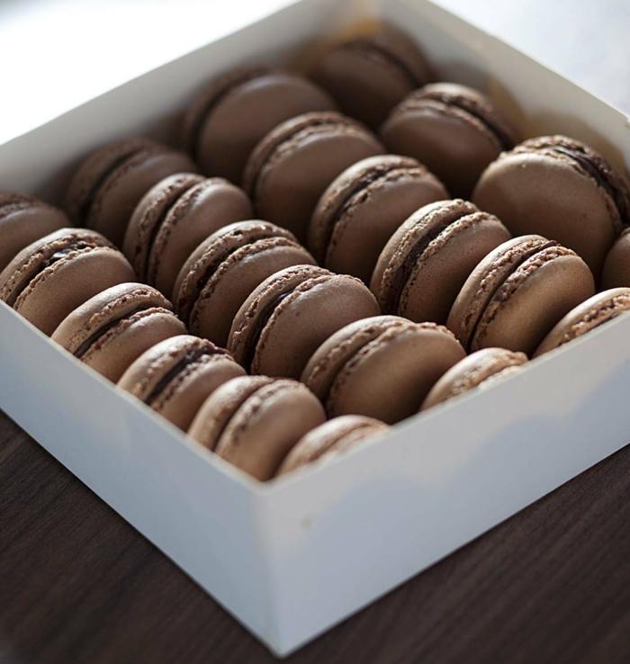 chocolat noir truffle recette de macarons