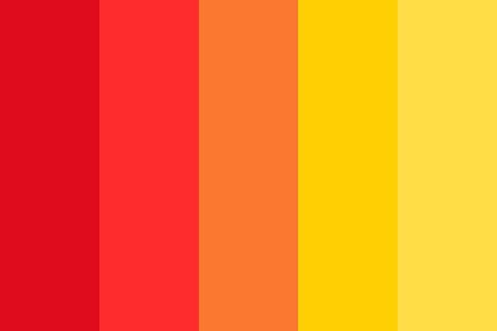 chromothérapie couleurs chaudes