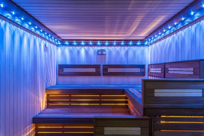 chromothérapie sauna