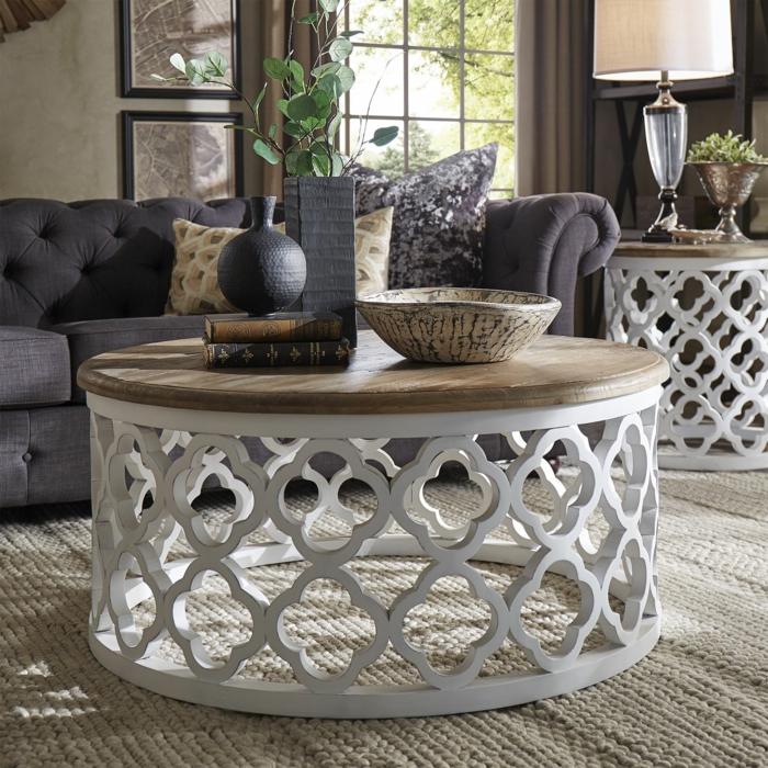 déco berbère table ronde orientale