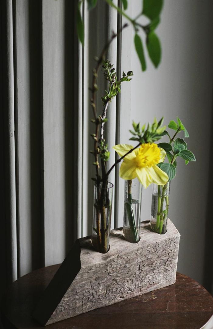 déco chambre vase soliflore