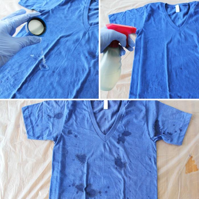déco chemise eau de javel concentrée