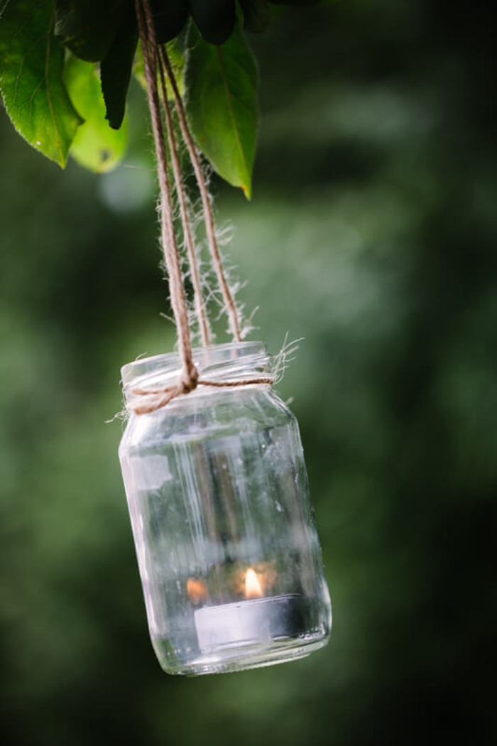 déco extérieur avec lanterne jardin diy