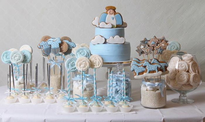 décoration baptême idées pour le buffet