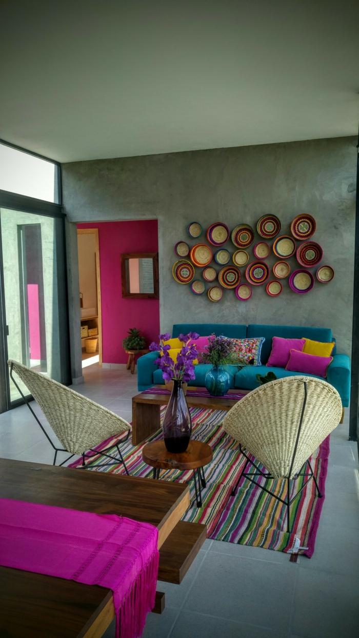 décoration mexicaine déco salon