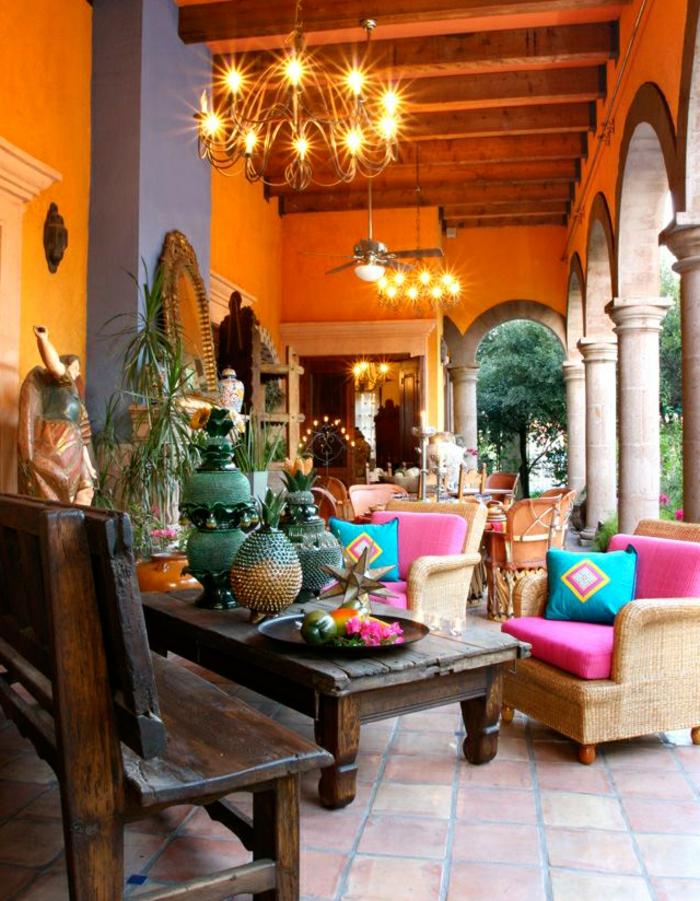 décoration mexicaine pleine de couleurs