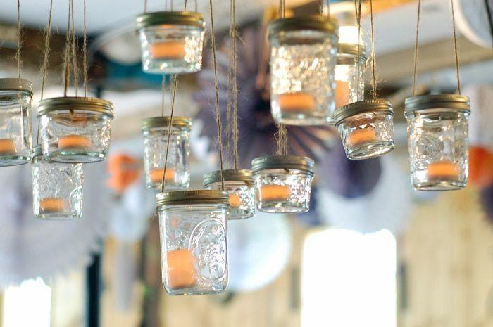 diy éclairage lanterne jardin