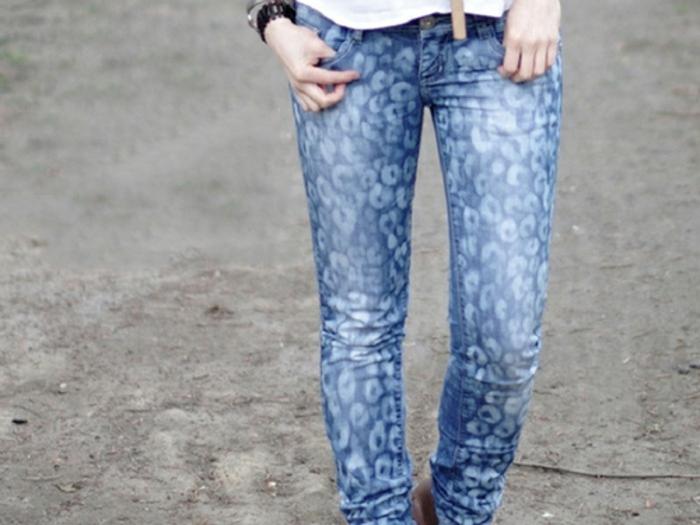 diy jeans moderne eau de javel concentrée