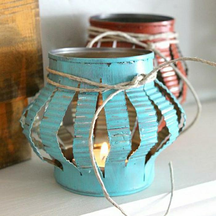 diy lanterne jardin à faire vous-même