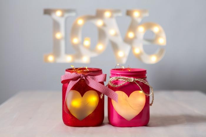 diy lanterne jardin romantique
